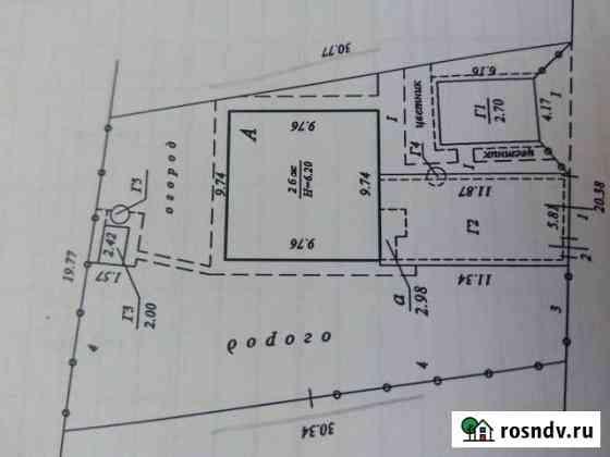Дом 151 м² на участке 6 сот. Темрюк