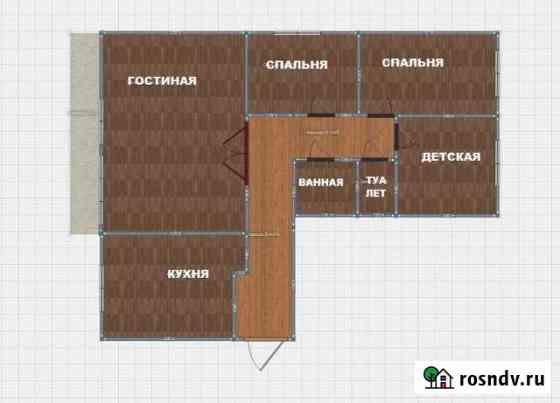 4-комнатная квартира, 78 м², 2/9 эт. Сысерть