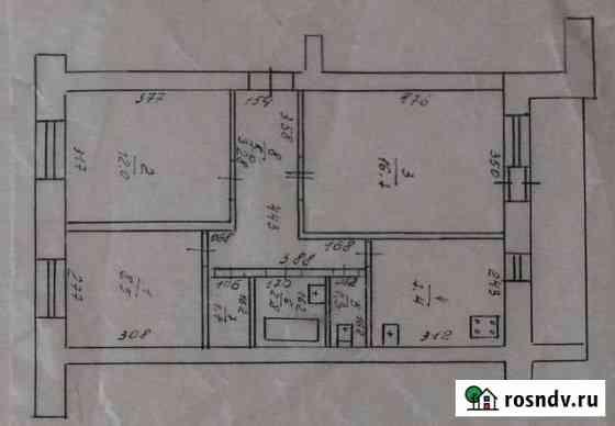 3-комнатная квартира, 58.8 м², 2/5 эт. Катайск