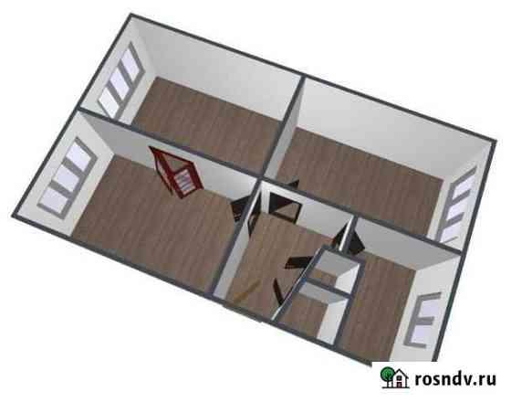 3-комнатная квартира, 58.7 м², 3/5 эт. Деденево
