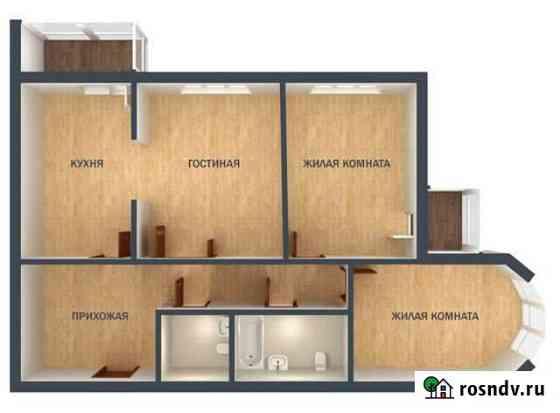 3-комнатная квартира, 100 м², 2/25 эт. Екатеринбург