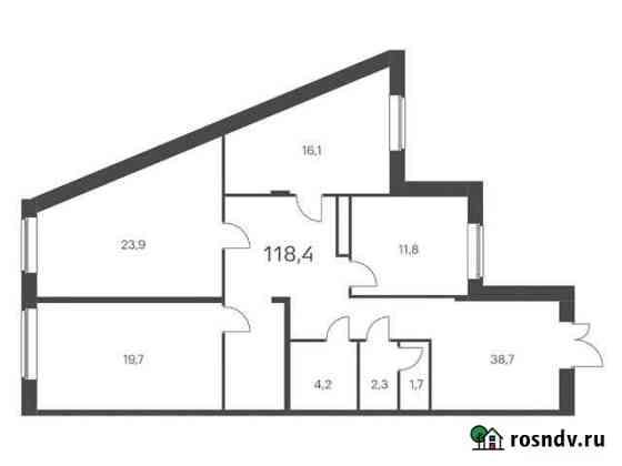 Продам помещение свободного назначения, 118.40 кв.м. Обнинск