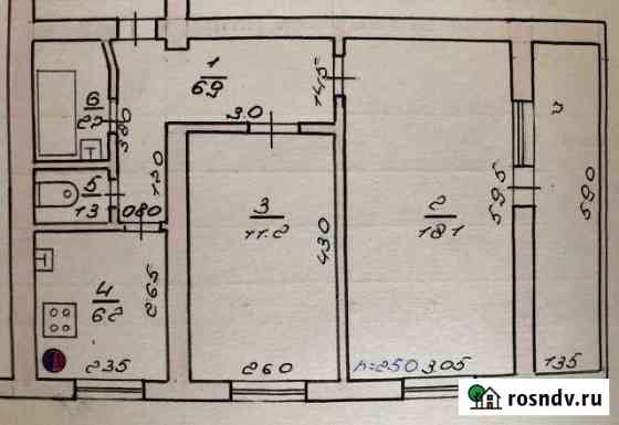 2-комнатная квартира, 50 м², 1/5 эт. Моздок