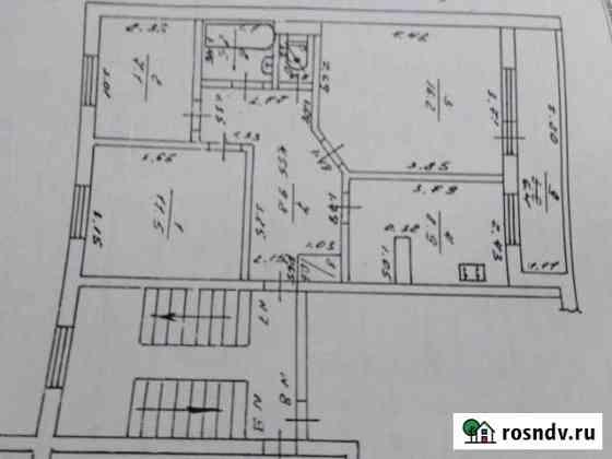3-комнатная квартира, 60 м², 3/4 эт. Козельск