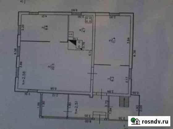 Дом 53.6 м² на участке 6.5 сот. Котельнич