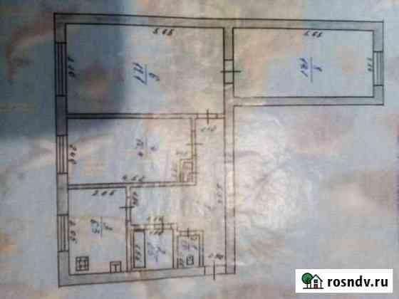 3-комнатная квартира, 61.7 м², 1/2 эт. Подбельск