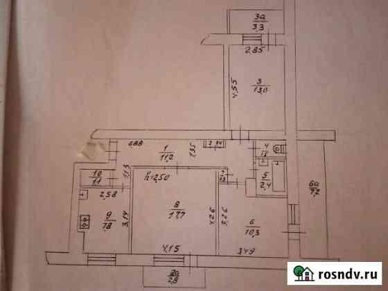 Комната 18 м² в 3-ком. кв., 3/9 эт. Саки