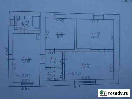 Дом 50 м² на участке 12 сот. Джанкой
