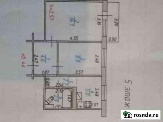 2-комнатная квартира, 41 м², 5/5 эт. Ново-Талицы