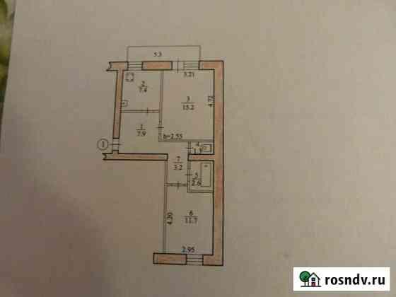 2-комнатная квартира, 49 м², 1/5 эт. Биробиджан