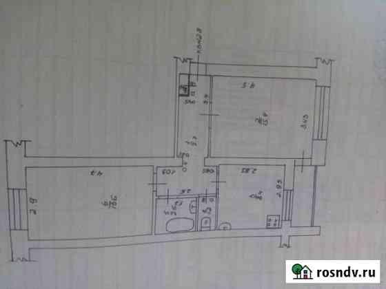 2-комнатная квартира, 49.2 м², 5/5 эт. Восточный