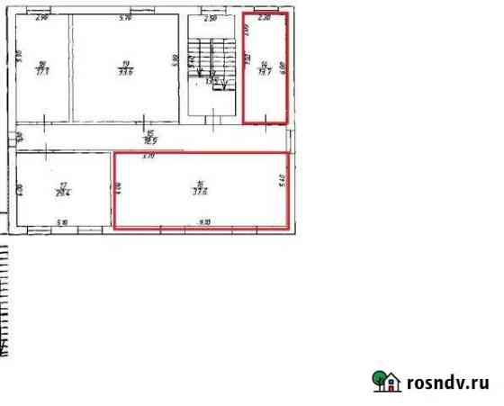 Офисное помещение, 51.3 кв.м. Хвойная