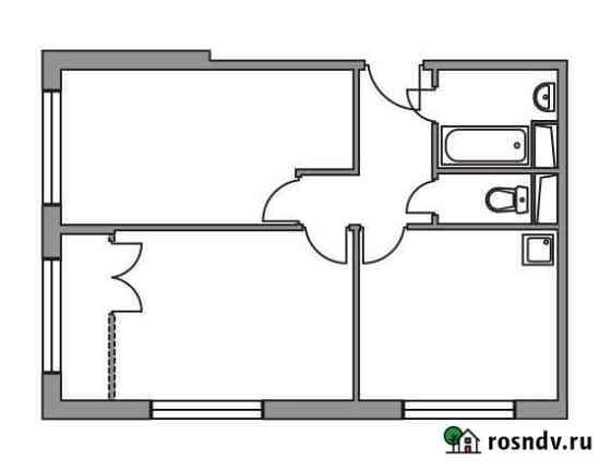 2-комнатная квартира, 48.1 м², 5/8 эт. Нахабино