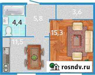 1-комнатная квартира, 40.9 м², 3/12 эт. Всеволожск