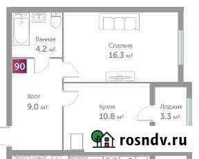 1-комнатная квартира, 42 м², 3/10 эт. Гурьевск