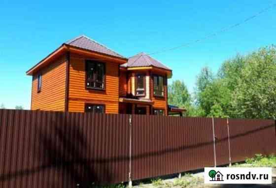 Дом 130 м² на участке 9 сот. Краснозаводск