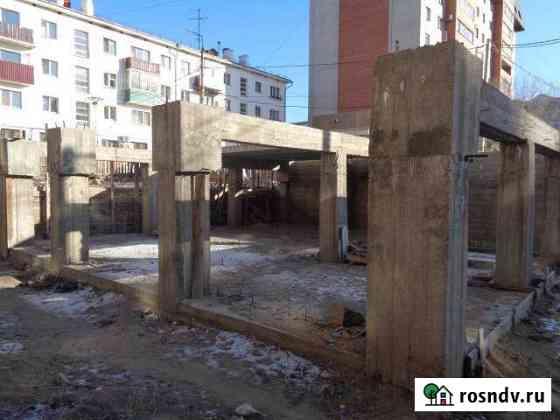Недостроенное здание 717 кв.м. с земельным участком Чита