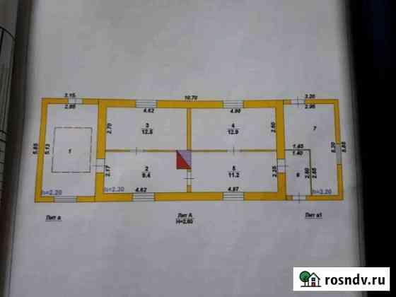 Дом 58 м² на участке 32 сот. Каширское