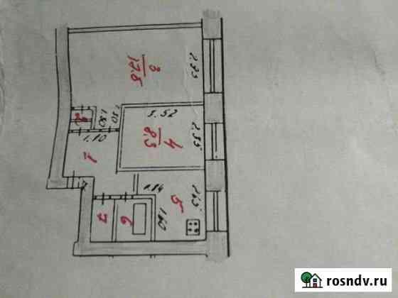2-комнатная квартира, 40 м², 2/2 эт. Красногорский
