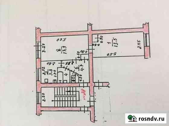 2-комнатная квартира, 43.7 м², 4/5 эт. Бутурлиновка
