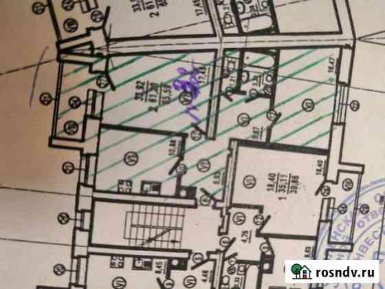 2-комнатная квартира, 65.6 м², 3/5 эт. Вязьма