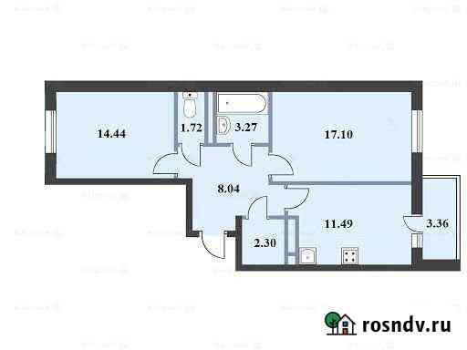 2-комнатная квартира, 60 м², 6/14 эт. Ватутинки