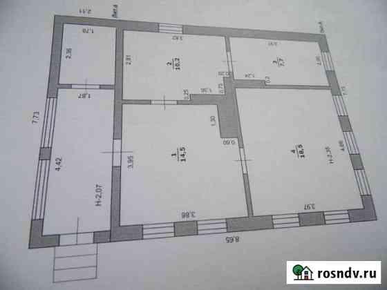 Дом 50 м² на участке 15 сот. Уразово
