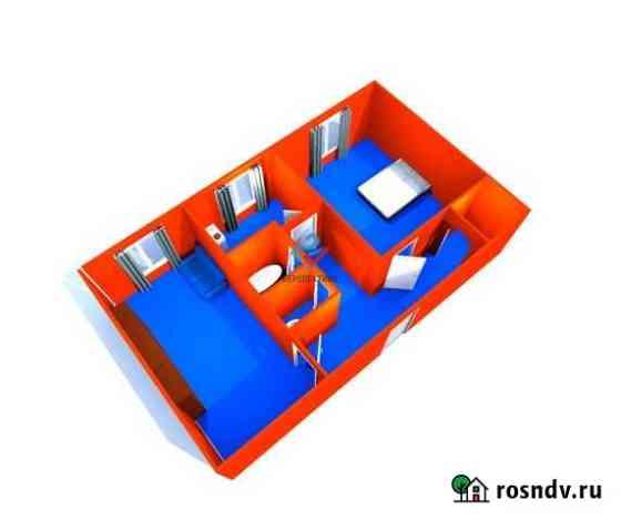 2-комнатная квартира, 44 м², 1/5 эт. Петропавловск-Камчатский