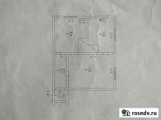 2-комнатная квартира, 39 м², 2/2 эт. Куеда