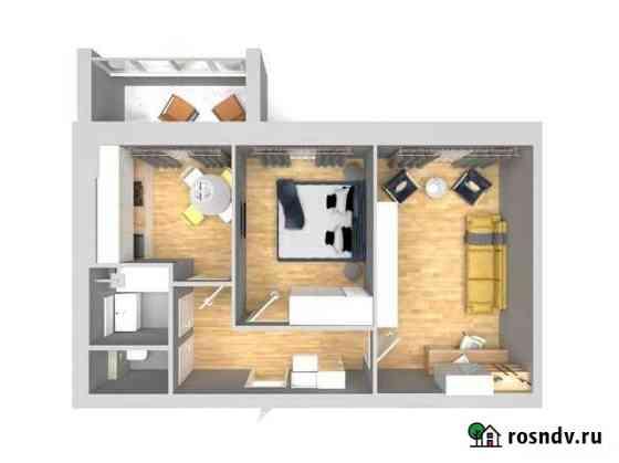2-комнатная квартира, 50.7 м², 4/5 эт. Высокая Гора