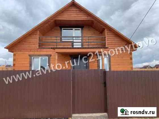 Дом 90 м² на участке 8 сот. Хомутово