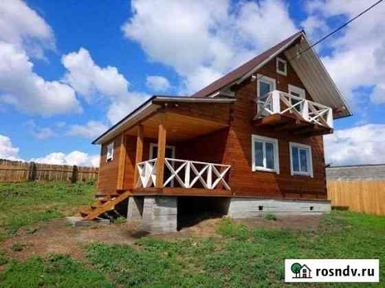 Дом 100 м² на участке 8 сот. Хомутово