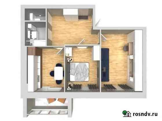 2-комнатная квартира, 58.5 м², 2/5 эт. Высокая Гора