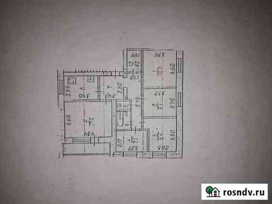 5-комнатная квартира, 82.3 м², 5/5 эт. Ухта