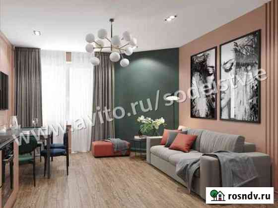 2-комнатная квартира, 54 м², 3/13 эт. Смоленск
