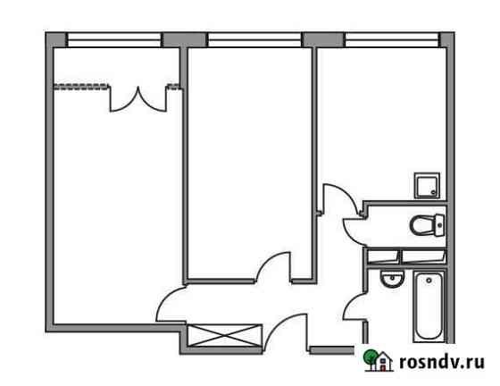 2-комнатная квартира, 50.3 м², 6/8 эт. Нахабино