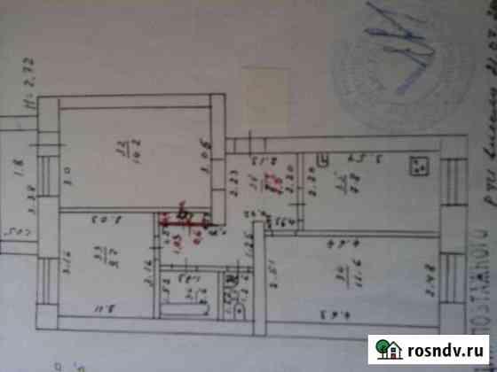 3-комнатная квартира, 58 м², 1/5 эт. Жигулевск