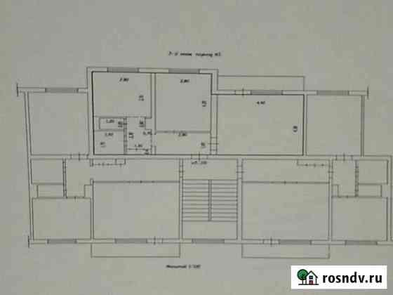 2-комнатная квартира, 50 м², 3/5 эт. Мыски