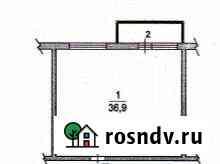 1-комнатная квартира, 37 м², 1/3 эт. Кокошкино