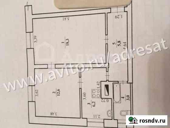 2-комнатная квартира, 45.9 м², 2/2 эт. Волгоград