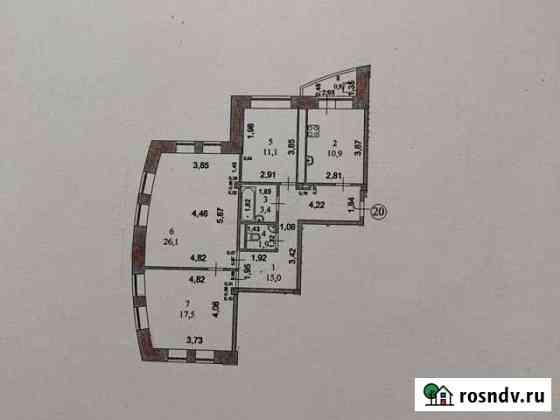 3-комнатная квартира, 86 м², 6/8 эт. Йошкар-Ола