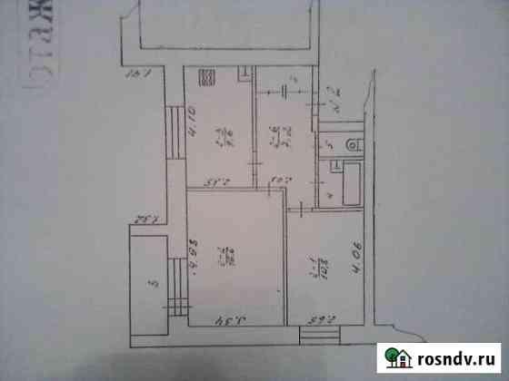 2-комнатная квартира, 51 м², 1/3 эт. Лотошино