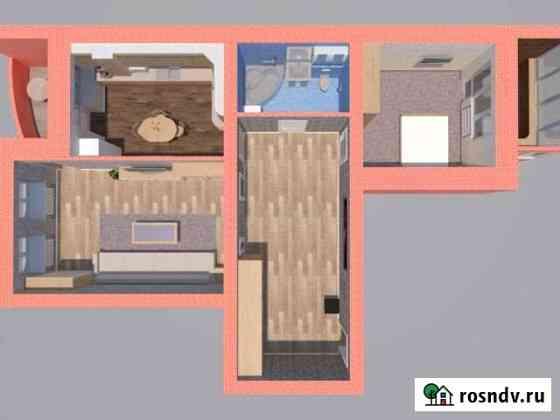 2-комнатная квартира, 89.3 м², 4/5 эт. Астрахань