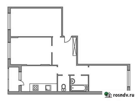 3-комнатная квартира, 71.1 м², 4/6 эт. Мытищи