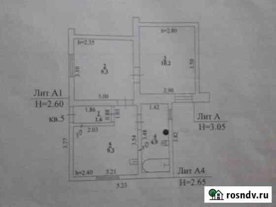 2-комнатная квартира, 35 м², 1/1 эт. Лев Толстой