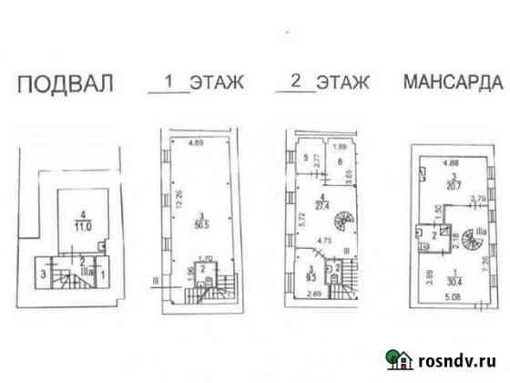 Продам помещение свободного назначения, 192 кв.м. Москва
