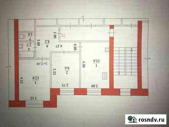 2-комнатная квартира, 47 м², 4/5 эт. Благовещенск