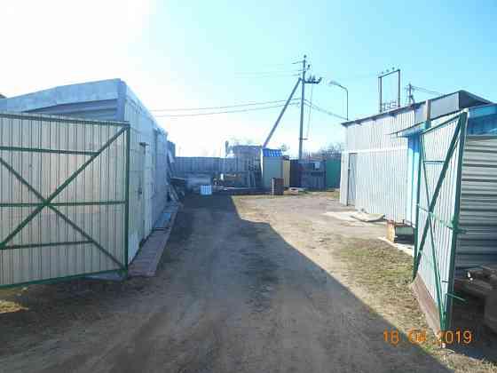 Мини-база 500 кв м с ангаром 100 кв м плюс 3 склада и общежитие Островцы