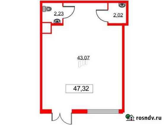 Продам помещение свободного назначения, 47.32 кв.м. Всеволожск