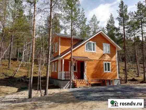 Дом 100 м² на участке 11 сот. Ловозеро